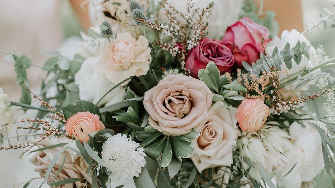 Gekleurde bruidsschoenen