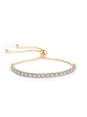 Crystal Bracelet | Gold