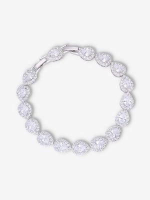 Teardrop Bracelet | Silver