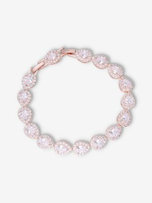Teardrop Bracelet | Rose Gold