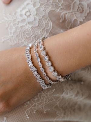 Cute Crystal Bracelet | Silver