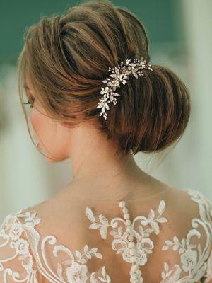 Bejewelled Pearl Haircomb