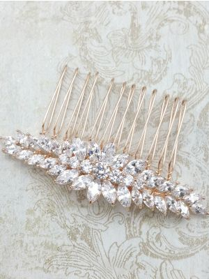 Donna Haircomb | Rose Gold Plated