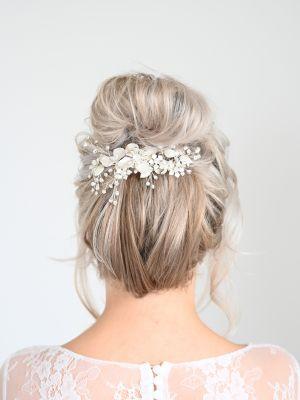 Silver Hair Flower
