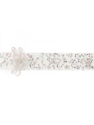 Luxe Kousenband | Crystal Blush