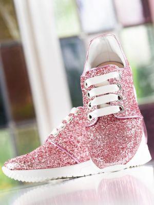 Lizzi | Pink Glitter