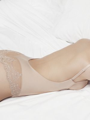 Nude & Lace Backless Body