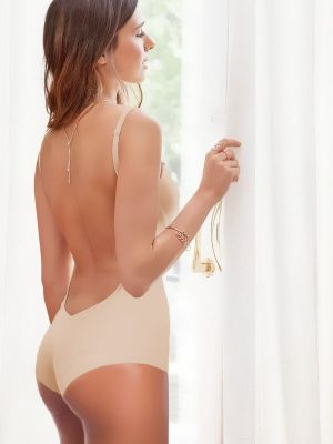 Backless Nude Body