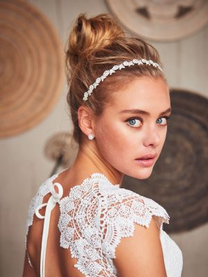 Blossom Hairband | Silver