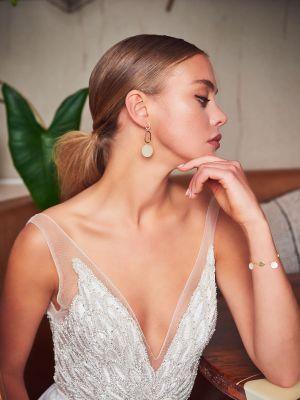 Daria Twin Earrings | Gold