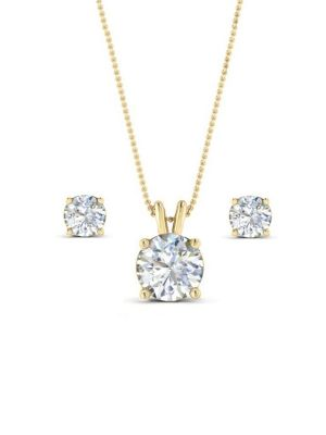 Classic Crystal | Set in Gold