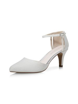 Sarina | Off-White Metallic
