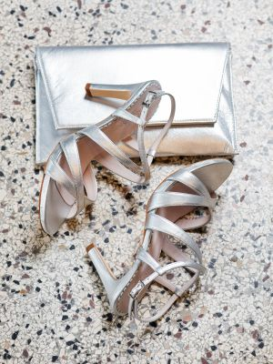 Sasja | Silver Leather