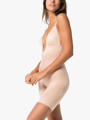 Suit Your Fancy Low-Back Mid-Thigh Bodysuit