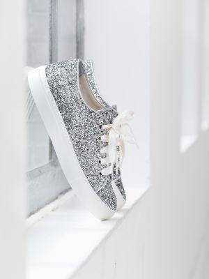 Suzan | Silver Glitter