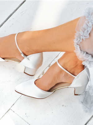 Tracey | Ivory Satin
