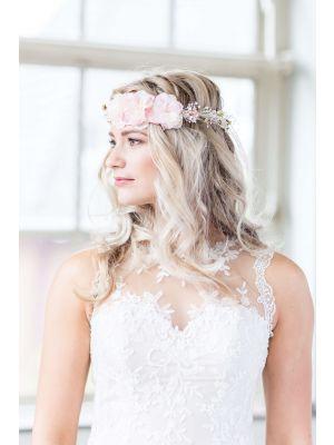 Flower Headband   Blush